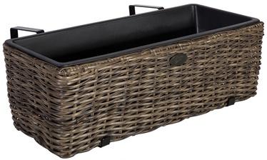Home4you Balcony Box Wicher 60x19xH18cm