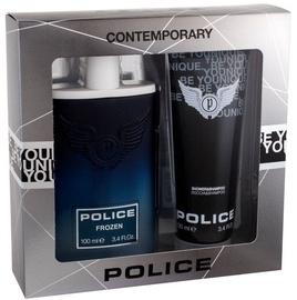 Police Frozen 100ml EDT + 100ml Shower Gel