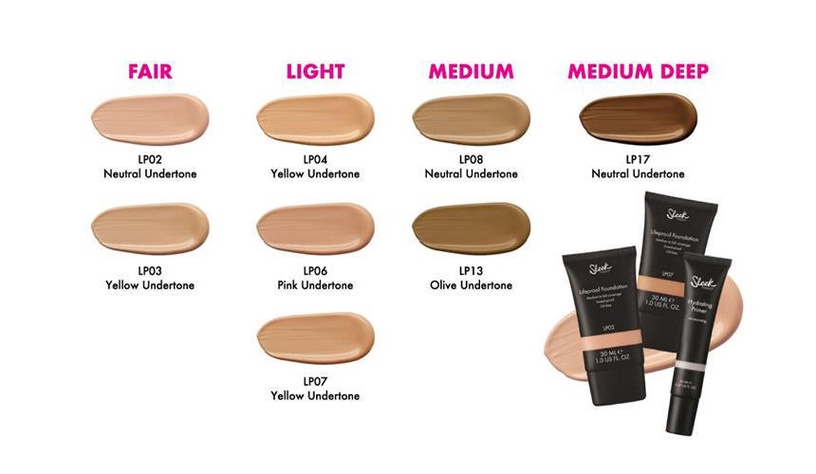 Sleek MakeUP Lifeproof Foundation 30ml LP02
