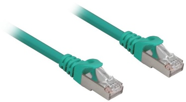 Sharkoon RJ45 CAT.6a SFTP LSOH Network Cable 5m Green