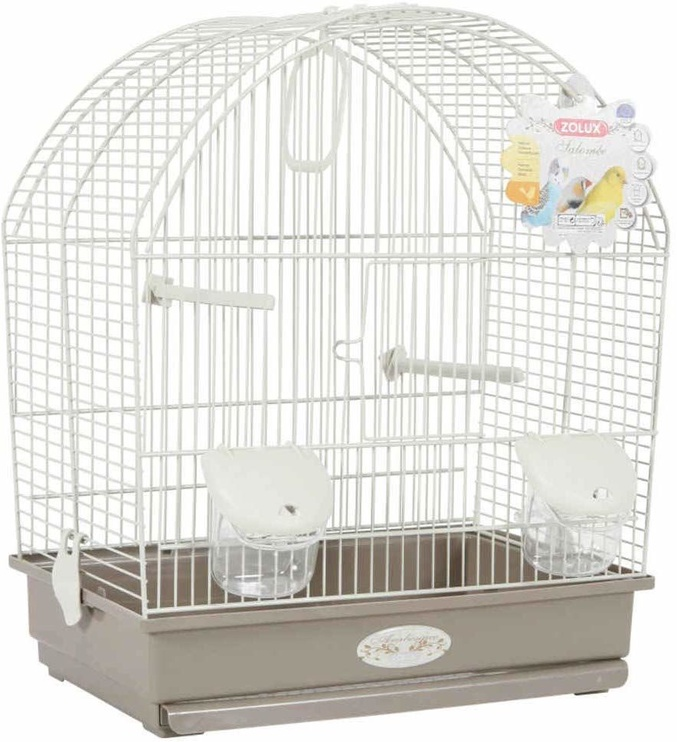 Zolux Arabesque Salomee Bird Cage Taupe