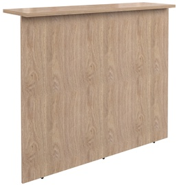 Skyland Dex DMS 120 Reception Desk Devon Oak