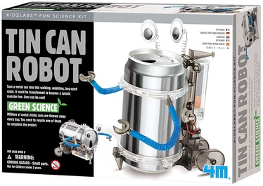 4M Fun Mechanics Tin Can Robot 3270
