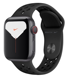 Apple Watch Nike Series 5 40mm GPS Space Gray Aluminum Case with Anthracite Black Band Cellular