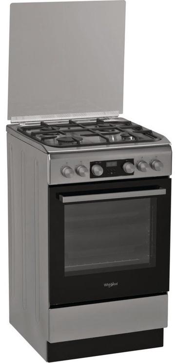 Whirlpool Gas-Electric Cooker WS5G8CHX/E Inox
