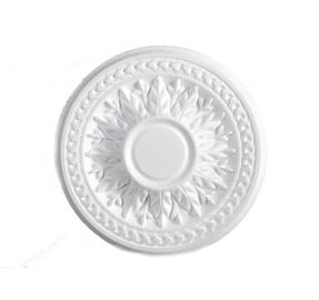 Šviestuvų apdailos elementas 280 B, balta, Ø 28 cm