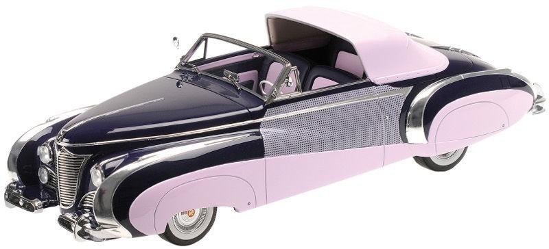 Minichamps Cadillac Serie 62 Cabriolet 1948 1:18 Purple