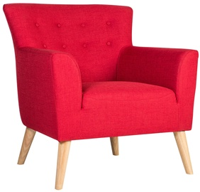 Home4you Armchair Movie Red 20501