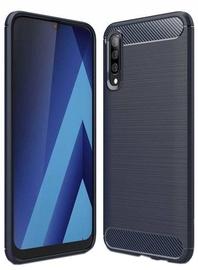 Hurtel Carbon Back Case For Samsung Galaxy A70 Blue