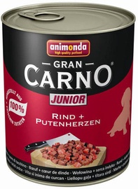 Animonda GranCarno Beef/Turkey Heart 800g