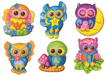 4M Mould And Paint Owls