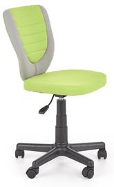 Детский стул Halmar Toby Grey/Green, 440x520x780 мм