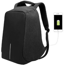 Bobby Anti-Theft Backpack Black
