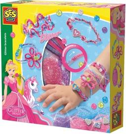 Apyrankių gaminimo rinkinys SES Creative Glitter Dreams Glitter Bracelets 14128