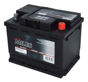 Аккумулятор Miles M063610, 12 В, 63 Ач, 610 а