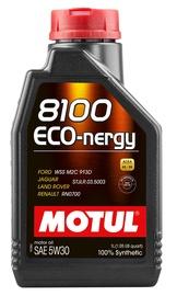 Mootoriõli Motul 8100 ECO-nergy 5W - 30, sünteetiline, sõiduautole, 1 l
