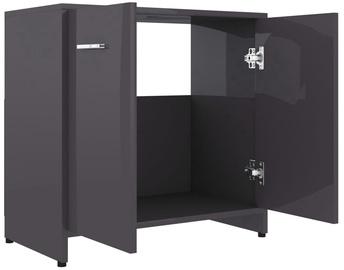 Шкаф для раковины VLX 802578, серый, 33 x 60 см x 58 см