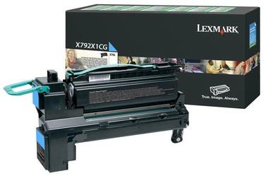 Lazerinio spausdintuvo kasetė Lexmark X792X1CG Cyan