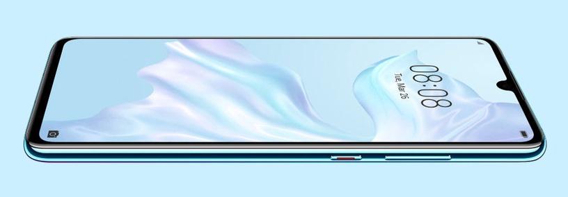 Мобильный телефон Huawei P30, синий/фиолетовый, 6GB/128GB