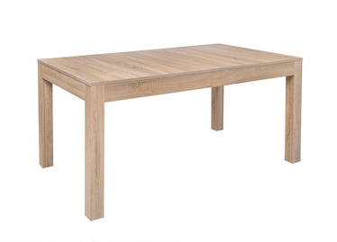 Pusdienu galds Black Red White Filo 2 Sonoma Oak, 1600 - 2995x900x780 mm