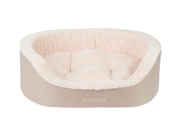 Кровать для животных Amiplay Aspen, песочный, 450x540 мм