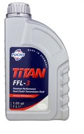 Масло для трансмиссии Fuchs Titan Fel-3, для трансмиссии, для легкового автомобиля/для двигателей газонокосилок, 1 л