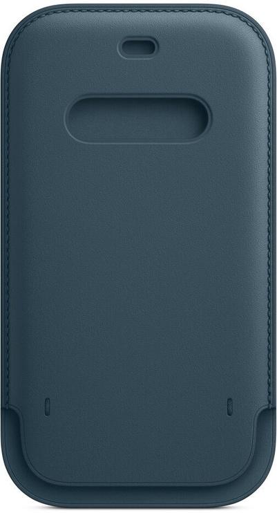 Чехол Apple iPhone 12 Pro Leather Sleeve with MagSafe, синий