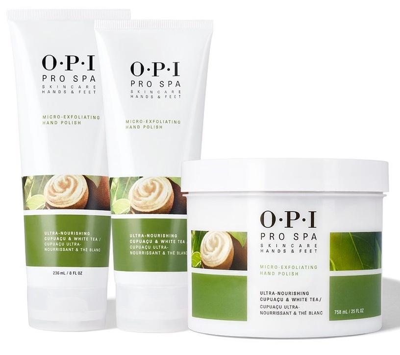 OPI Pro Spa Skincare Hands & Feet Micro-Exfoliating Hand Polish 758ml