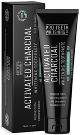 Pro Teeth Whitening Activated Charcoal Whitening Toothpaste 75ml