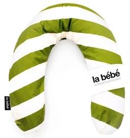 La Bebe Rich Cotton Nursing Maternity Pillow Green/White 74271