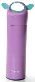 Fissman Angel Double Wall Vacuum Bottle 400ml Light Lilac