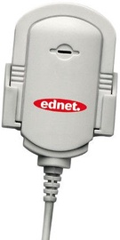 Ednet 83010 Microphone with Clip White