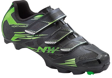 Northwave Scorpius 2 Black/Green 44.5