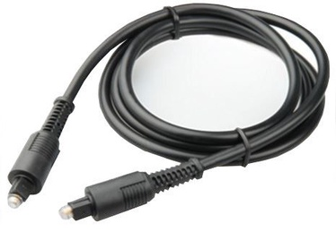 Natec Optical Cable Toslink to Toslink Black 1m