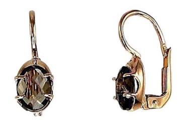 Diamond Sky Gold Earrings Malori II