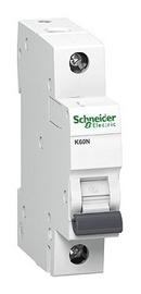 Automatinis jungiklis Schneider K60N, 1P, B, 10A, 6kA