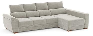 Stūra dīvāns Home4you Argos 63959, pelēka, 160 x 288 x 96 cm