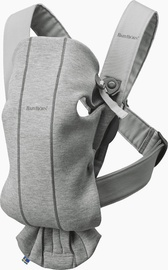 Babybjorn Baby Carrier Mini Light Grey 3D Jersey