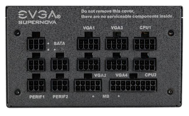 EVGA Power Supply PSU 650W 80PLUS Gold
