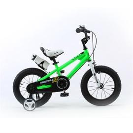 "RoyalBaby Bicycle Freestyle 12"" Green"