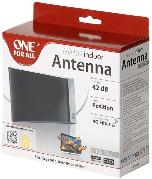 One For All Amplified Indoor Antenna SV9335