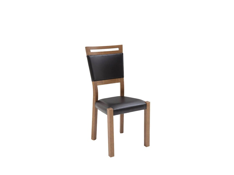 Black Red White Gent 2 Chair April Oak/Black