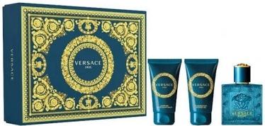 Rinkinys vyrams Versace Eros 3pcs Set 150 ml EDT