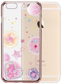 X-Fitted Pink Dream Swarovski Crystals Back Case For Apple iPhone 6/6s Rose Gold