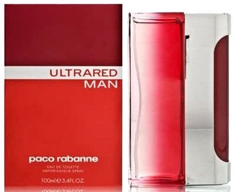 Tualetinis vanduo Paco Rabanne Ultrared Men 100ml EDT