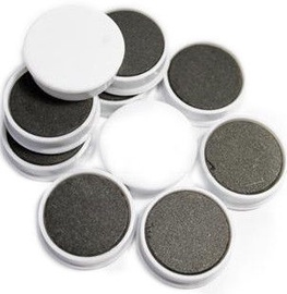 Esselte Magnets For Boards White 10PCS/25mm
