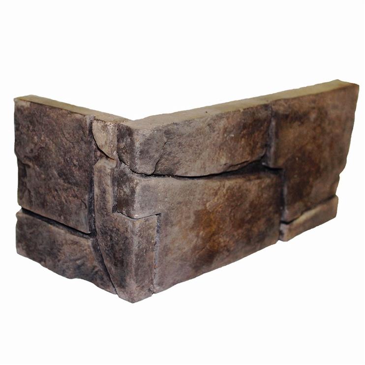 Декоративный камень Korolita 4779032220026, 260 мм x 90 мм x 8 мм, 14 шт.