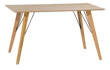 Home4you Helena Table 140x80cm Oak