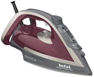 Утюг Tefal Smart Protect Plus FV6870E0, красный/серый
