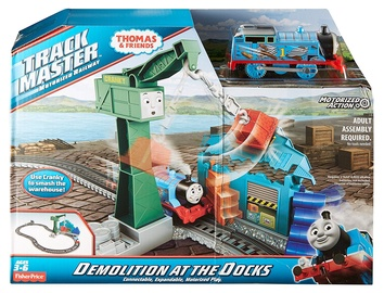 Fisher Price Thomas & Friends TrackMaster Demolition At The Docks DVF73